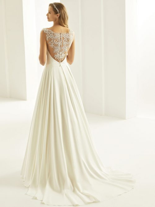 Marryfair schlichte Brautkleider Standesamt ivory Spitze (13)
