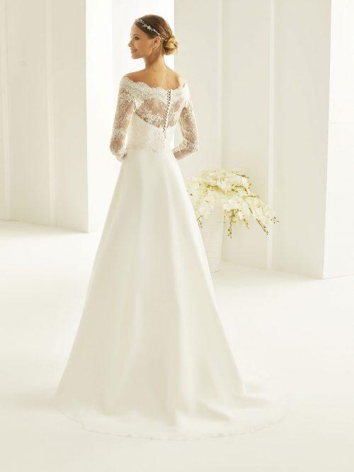 Marryfair schlichte Brautkleider Standesamt ivory Spitze (16)