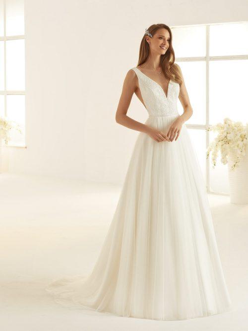 Marryfair schlichte Brautkleider Standesamt ivory Spitze (17)