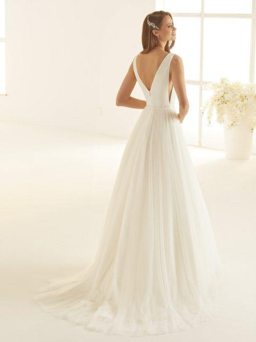 Marryfair schlichte Brautkleider Standesamt ivory Spitze (18)
