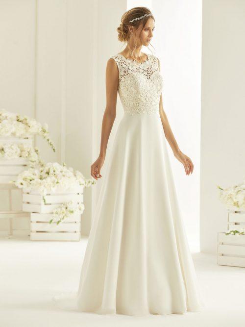 Marryfair schlichte Brautkleider Standesamt ivory Spitze (19)