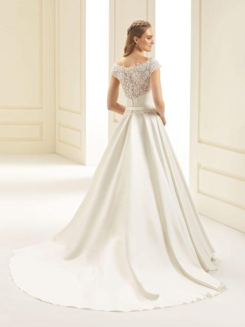Marryfair schlichte Brautkleider Standesamt ivory Spitze (2)