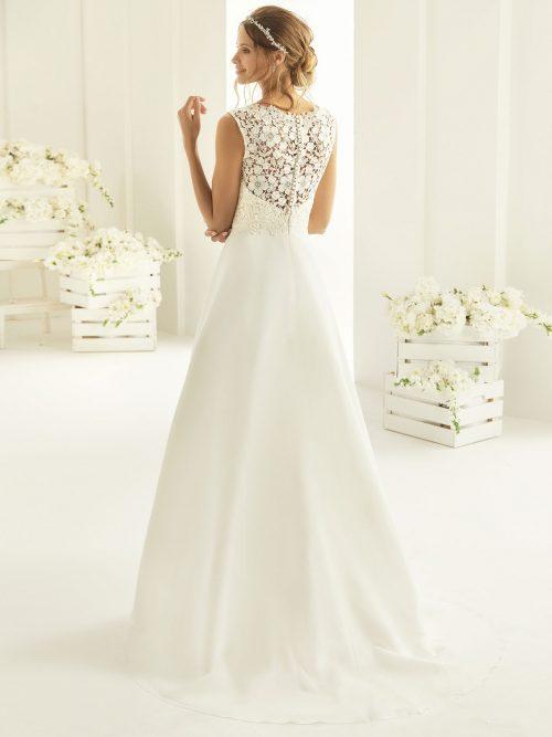Marryfair schlichte Brautkleider Standesamt ivory Spitze (20)