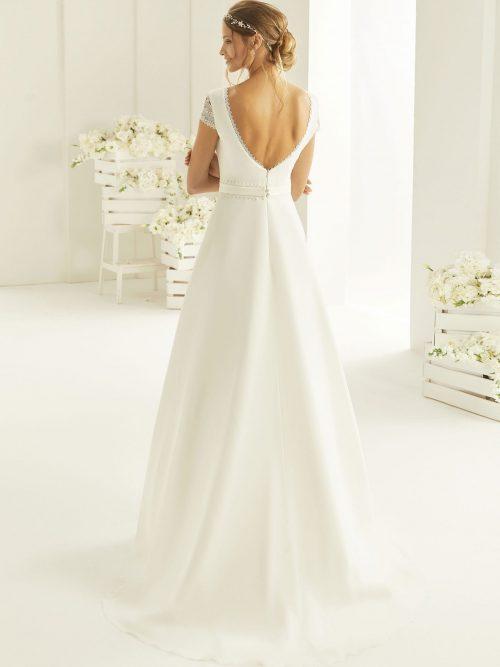 Marryfair schlichte Brautkleider Standesamt ivory Spitze (22)