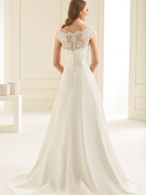 Marryfair schlichte Brautkleider Standesamt ivory Spitze (4)