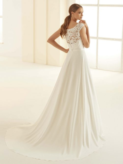 Marryfair schlichte Brautkleider Standesamt ivory Spitze (6)