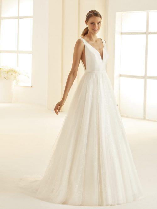 Marryfair schlichte Brautkleider Standesamt ivory Spitze (7)