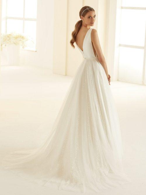 Marryfair schlichte Brautkleider Standesamt ivory Spitze (8)